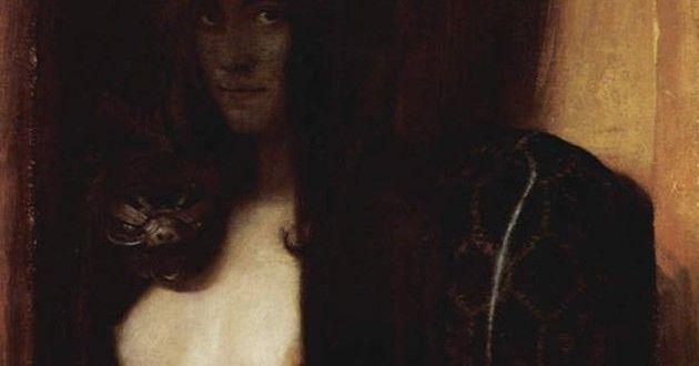'El Pecado', la obra maestra de Franz von Stuck | revista Arte y Pintura al Dia