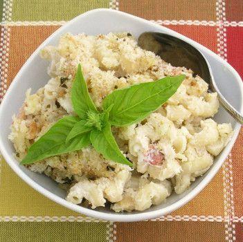 Homemade Gourmet Macaroni and Cheese Casserole image