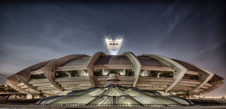 Stade olympique, Montreal Olympic Stadium by Benoit Larochelle on 500px