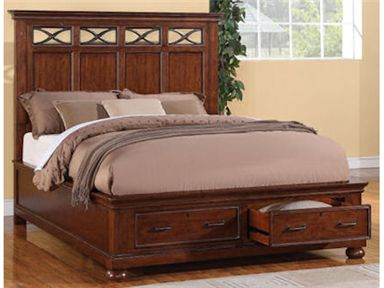 Shop For Wynwood Furniture Queen Panel Bed With Storage, W1809 90QS, And  Other