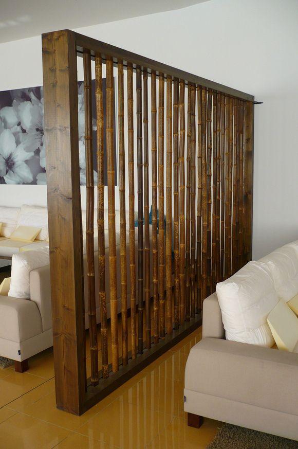 Bambú y abeto tratado: paneles separadores @ Hotel CARIBE