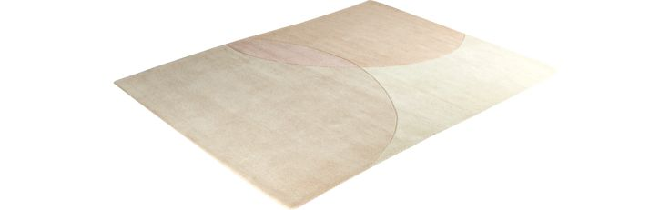 Ellipse roze tapijt habitat €299