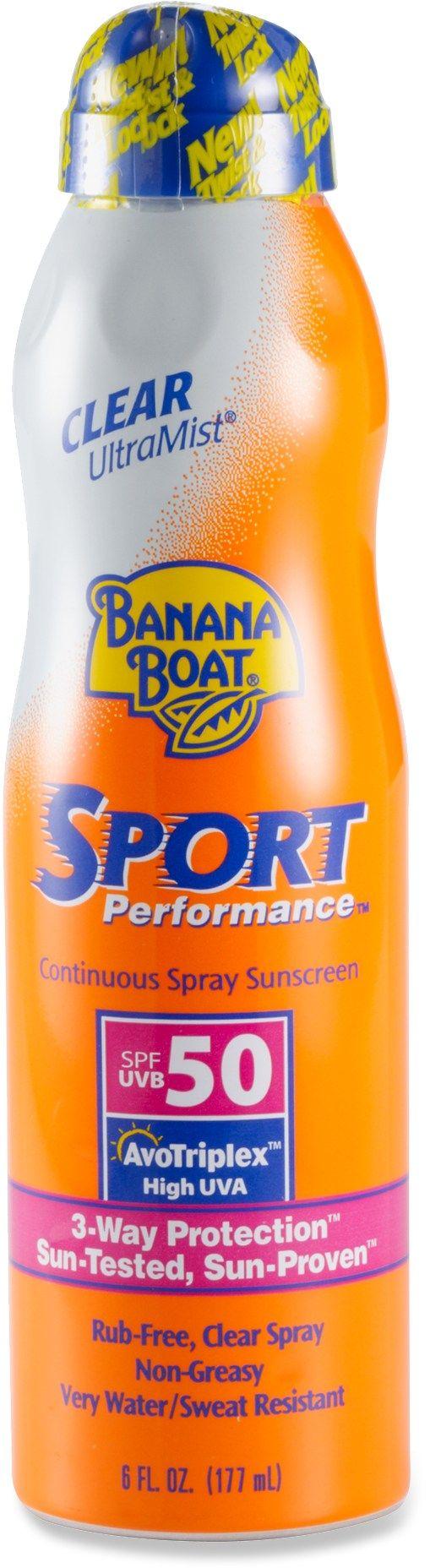 Banana Boat Sport Performance Ultramist Spray Sunscreen - Spf 50