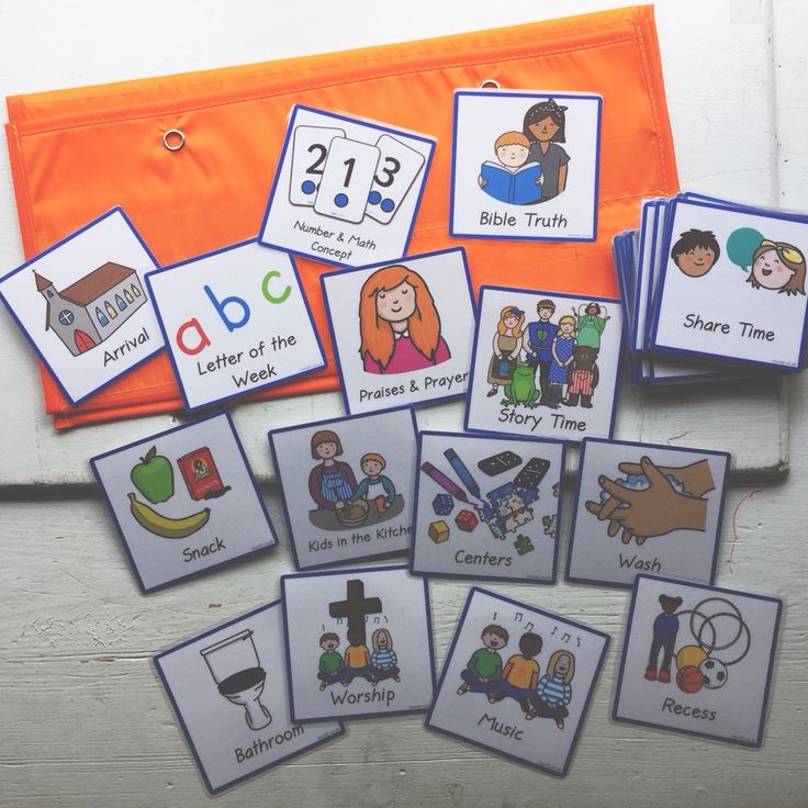 Classroom Design For Living And Learning With Autism ~ Best visual schedule preschool ideas on pinterest