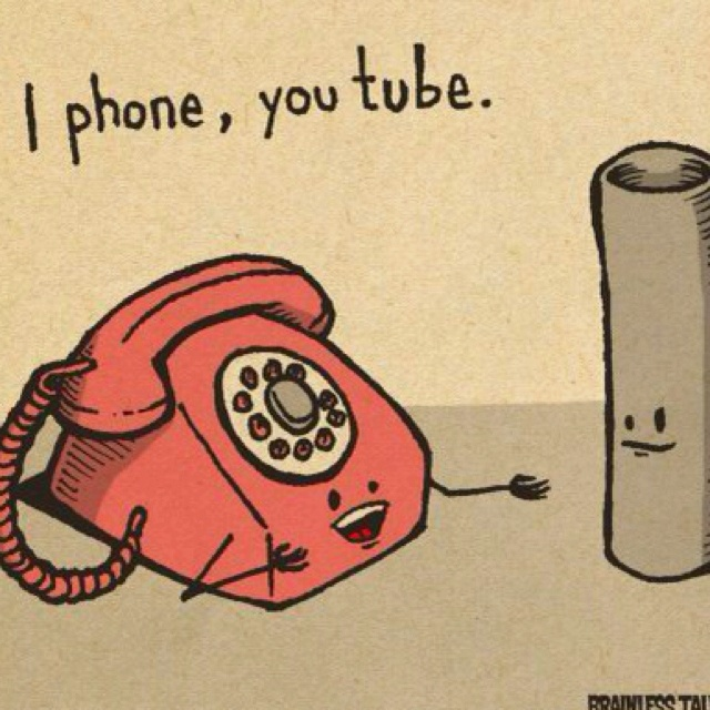 funny: Old Schools, Social Media Humor, I Phones, Youtube, Funny Stuff, Tech Humor, Socialmedia, Iphone, Techhumor