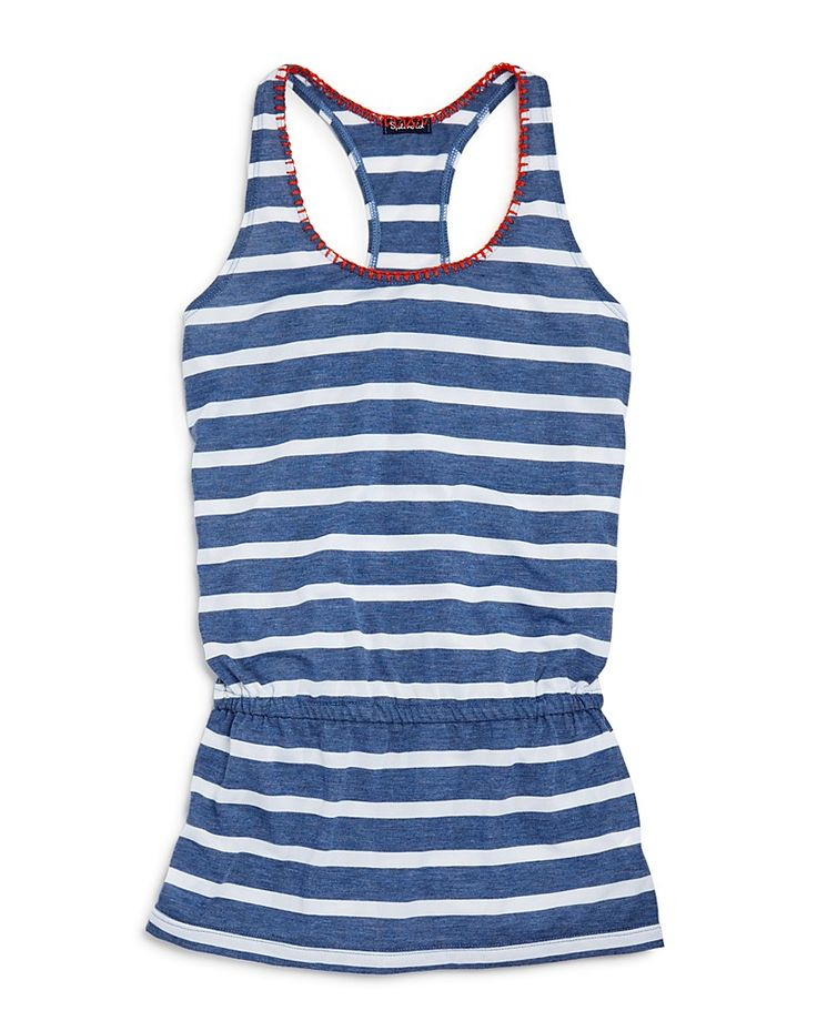 68.00$  Watch now - http://victy.justgood.pw/vig/item.php?t=9z3xyk26334 - Splendid Girls' Chambray Stripe Beach Dress Cover Up - Sizes S-L