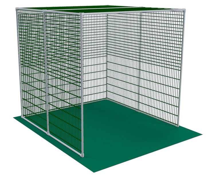 PVC Plan Fridays: Golf Cage PVC Plan Golf season is upon us. Why not get an early start, or practice in your off-hours to hone you game? Its easy to do in the backyard, garage or basement by building your own PVC Golf Cage. For our PVC Plan Friday, we're releasing our own easy-to-follow plan on how to build your own PVC Golf Cage using FORMUFIT PVC Fittings, some PVC pipe, netting and some zip ties.