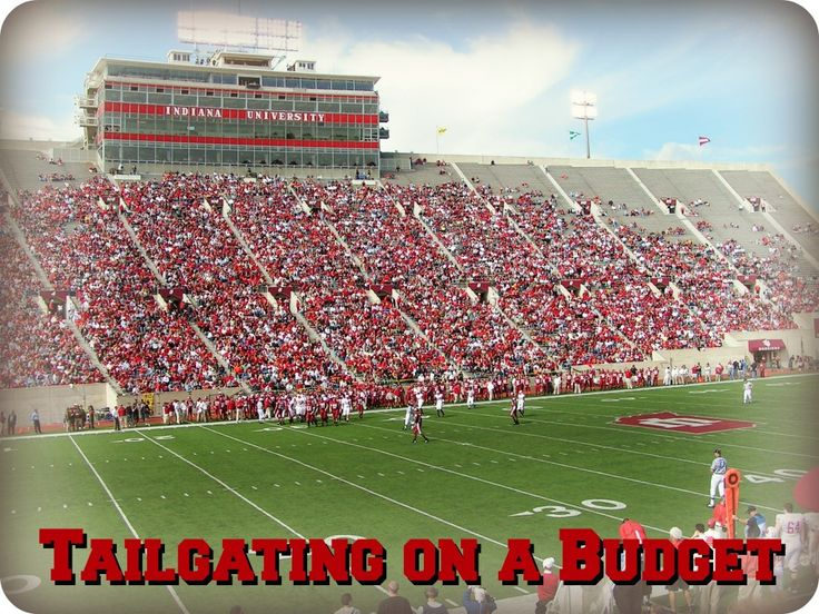 Tailgating on a budget! Plus, Tailgating Games, Tailgating Recipes, and Cheap Meal Ideas!