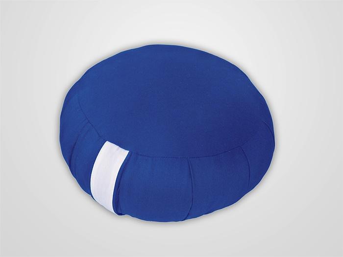 almofada para meditação - azul anil  ~~ www.zafoo.com.br ~~ #zafu #meditação #meditation #pillow #almofada #zen #zazen #mindfulness #mindful #atençãoplena