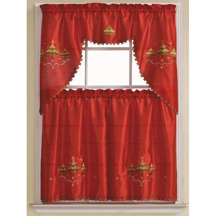 Modern Kitchen Set Red: Best 25+ Red Kitchen Curtains Ideas On Pinterest