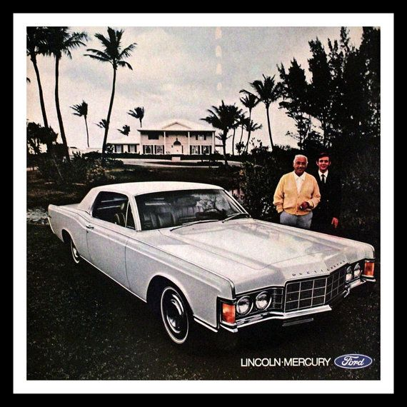 lincoln continental ad lincoln mercury by