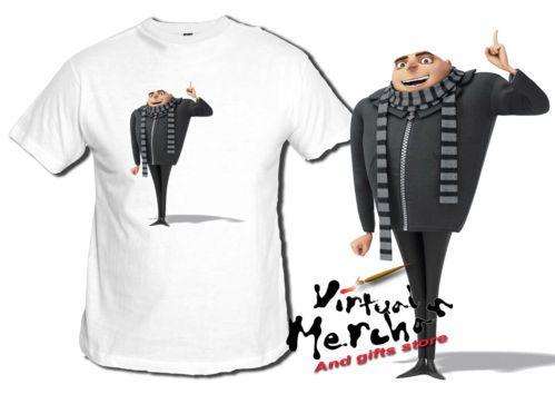 Camiseta GRU 2 MI VILLANO FAVORITO tshirt t-shirt xxl niño child mujer girl | eBay