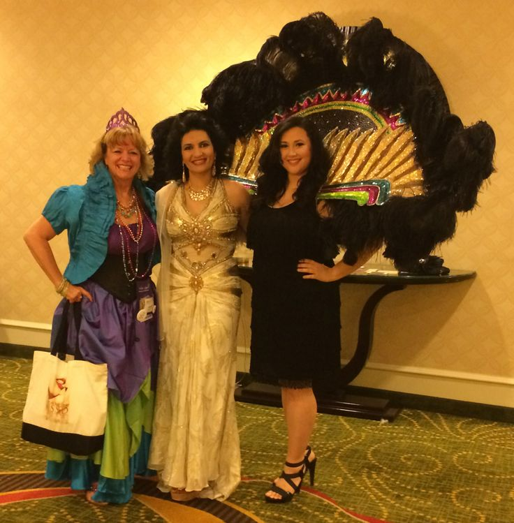 With the stunning Olivia Gates and a New Orleans beauty, Ashley Martinez, before the Mardi Gras Carnival
