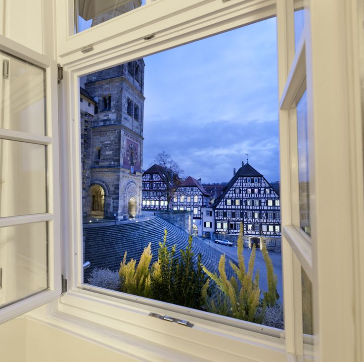 the #view on the #citycenter from #schwäbisch hall enjoy our #superior #hotelrooms