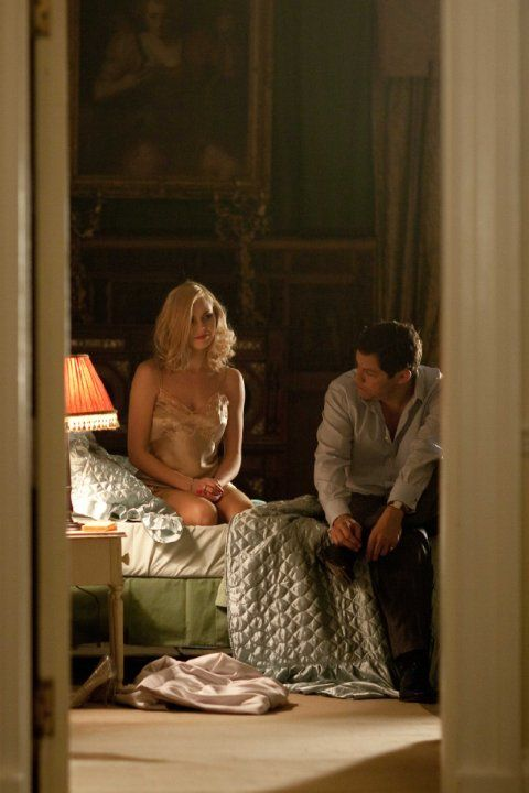 Still of Dominic West and Hannah Tointon in The Hour (2011)