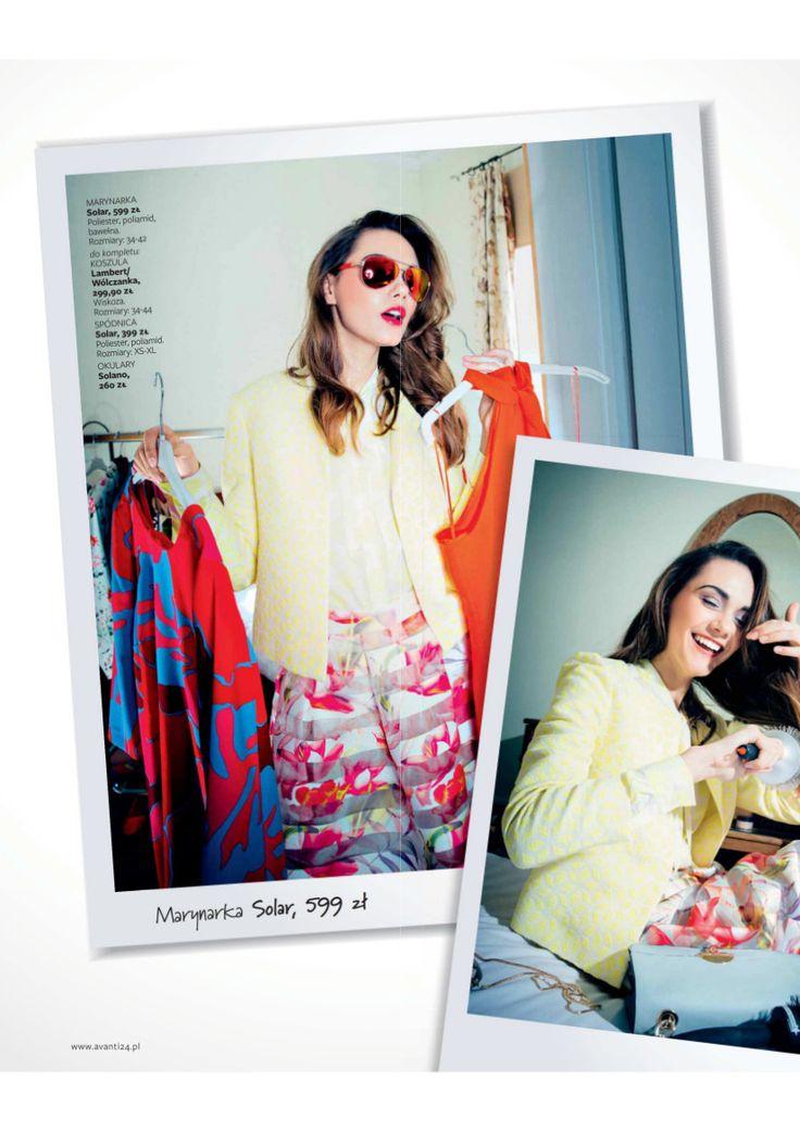 Avanti Magazine #press #magazine #fashion #woman #model