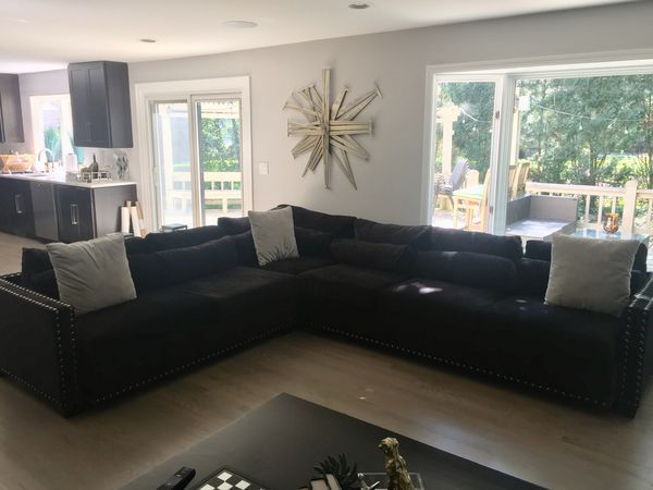 Custom Made Lightly Used Sectional Couch For Sale In Naperville