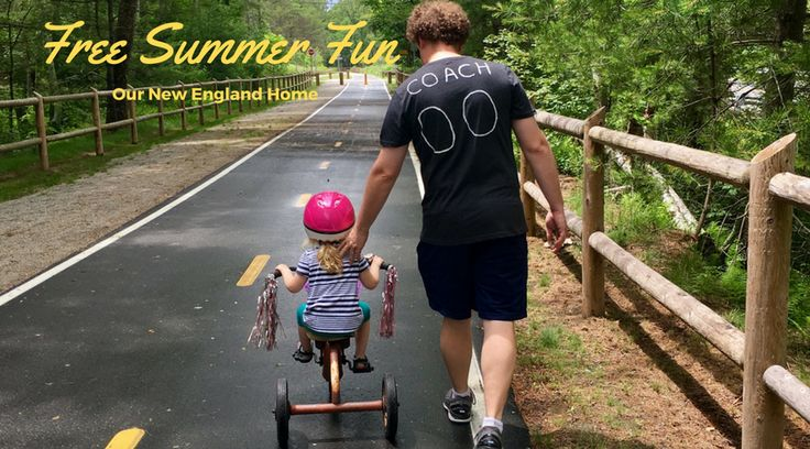 Simple and free ideas for summer fun, perfect for the whole family!  Our New England Home