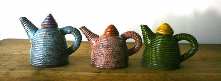 Janet Green - hand built ceramic teapots