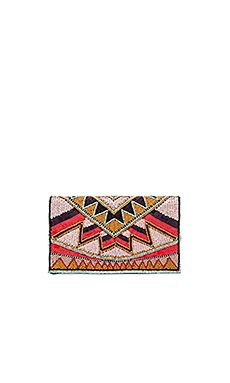 POCHETTE PERLÉE MOTIF TRIBAL AMUSE SOCIETY AMUSE SOCIETY Deby Debo HEMANT AND NANDITA Show Me Your M
