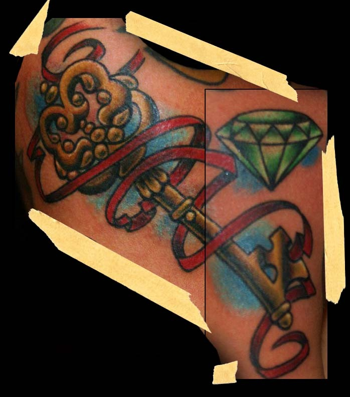 121 best images about i make pretty tattoos on pinterest for Pretty key tattoos