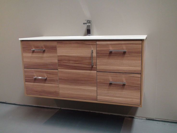 $549 MELBOURNE 1200MM WOODEN WALL HUNG BATHROOM VANITY WITH CERAMIC TOP (BV11-1200)  | eBay