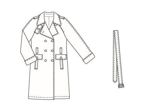 Burdastyle 01-2006-101 Trench Coat pattern
