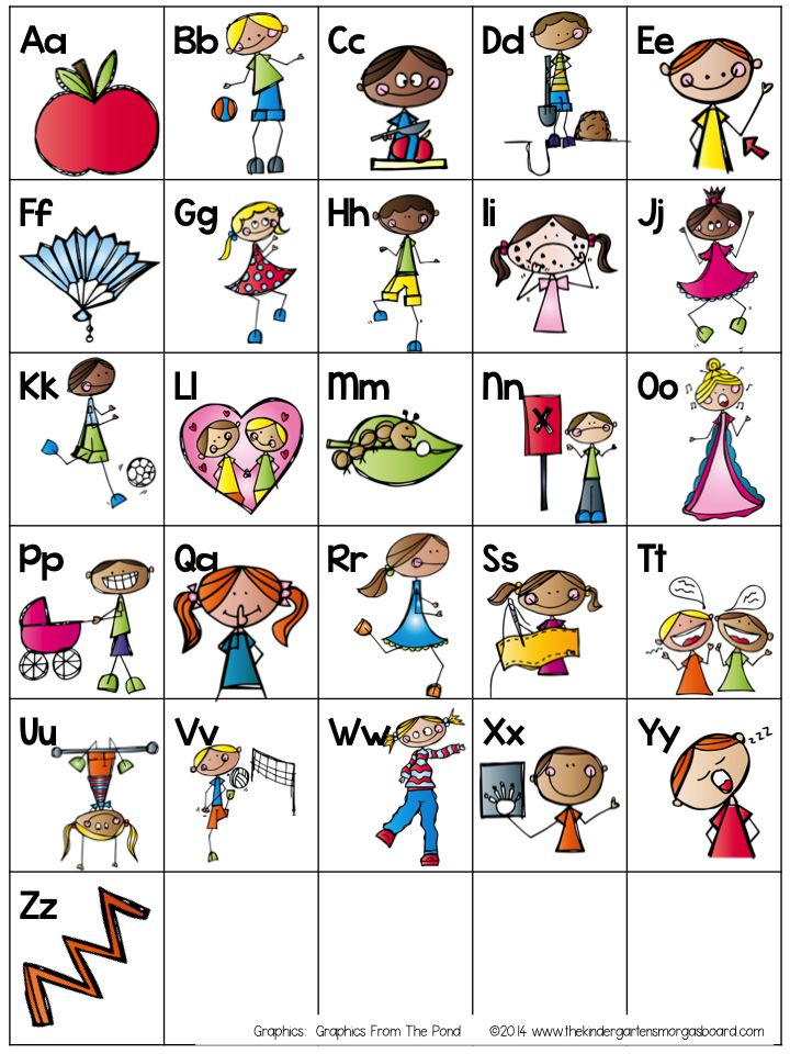 1007 Best Alphabet Activities Images On Pinterest | Alphabet