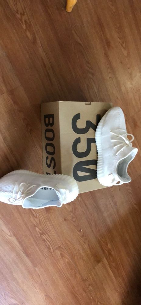 179458340b17 yeezys boost 350 v2 triple white  fashion  clothing  shoes  accessories   mensshoes  athleticshoes (ebay link)
