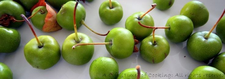 crab apples recipe