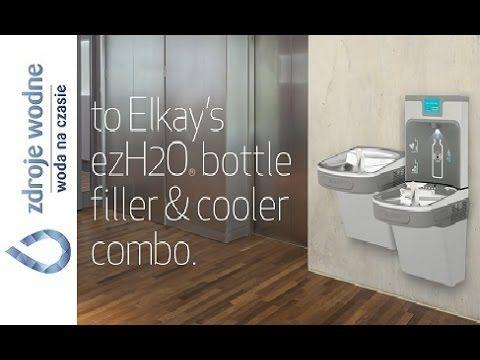 EZH2O Stacja wody pitnej ELKAY - YouTube
