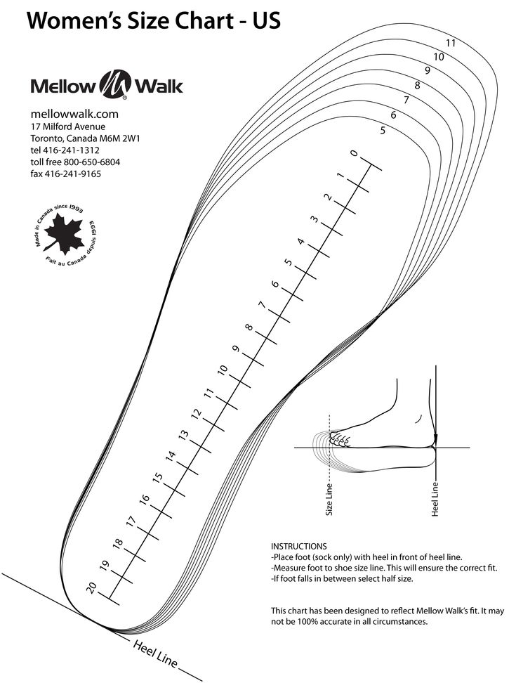 This is a graphic of Accomplished Printable Shoe Sizer
