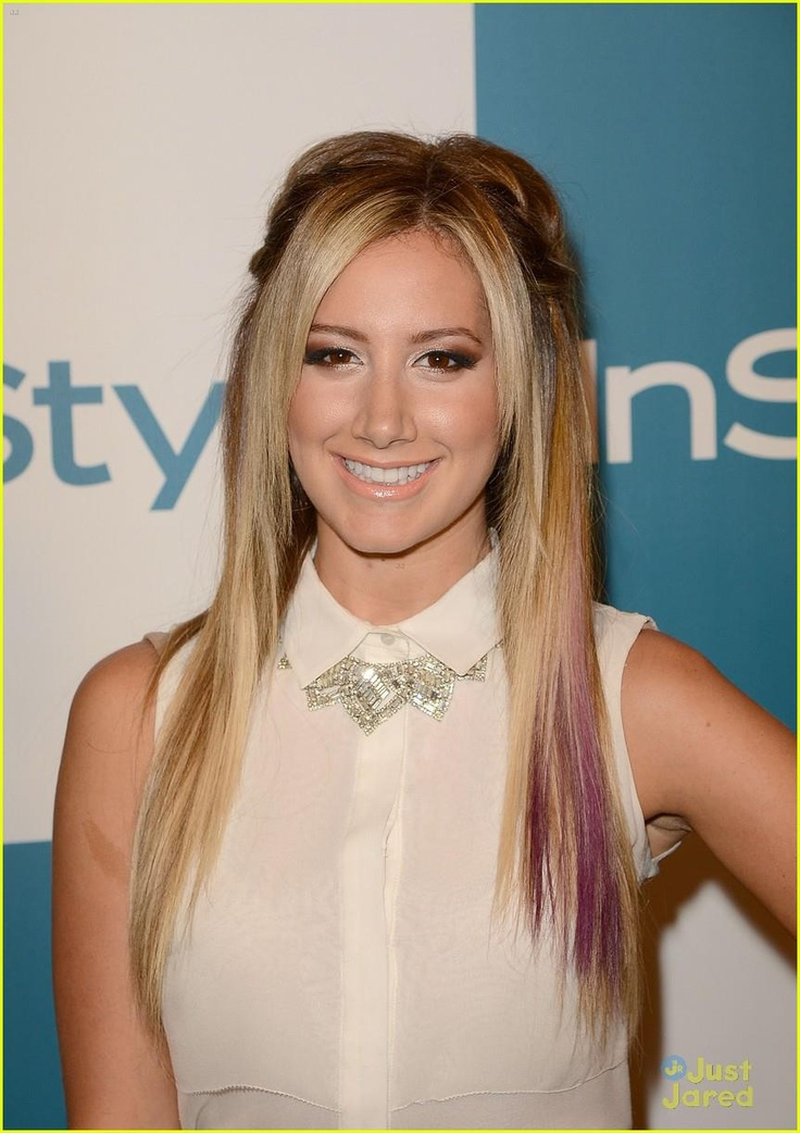 Ashley Tisdale showed off her @Great Lengths USA 3D FX Amethyst strands at the InStyle Summer Soiree last week. Nine Zero One Salon also gave her an elegant braid to complete the look.