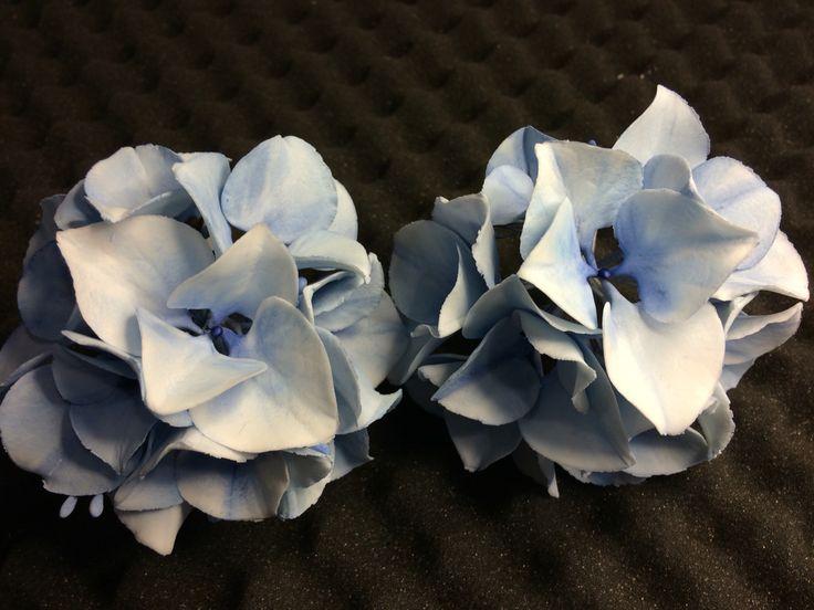 Hydrangea made of flowerpaste