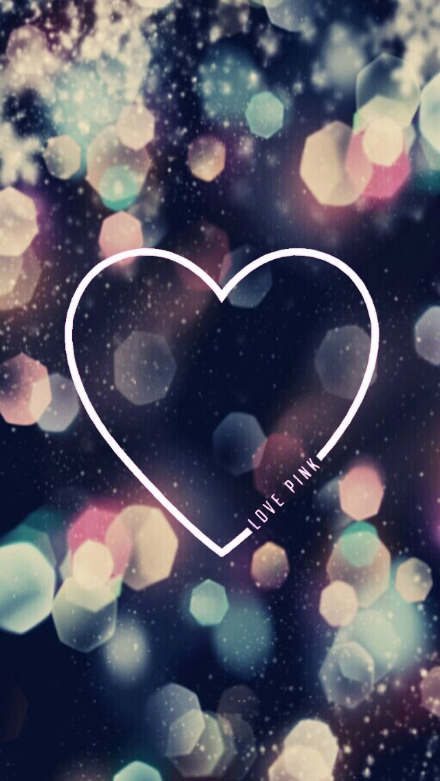 Glitter Love Wallpaper Iphone : Victoria s Secret glitter/sparkle phone wallpaper I made, feel free to use it! iPhone ...