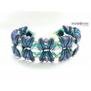 Stream bracelet - inst. dl. beading pattern