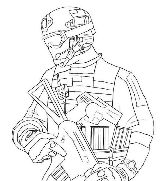 Modern Warfare 3 Mw3 Call Of Duty Coloring Sheet ...