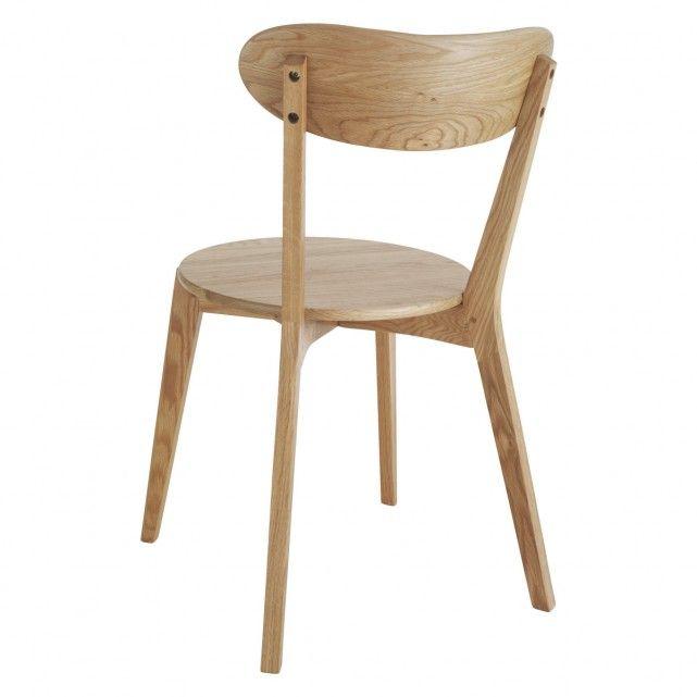 SOPHIE Oak dining chair | Buy now at Habitat UK