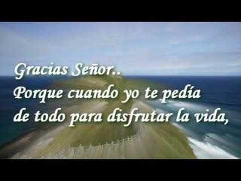 Gracias Señor - joan sebastian - YouTube