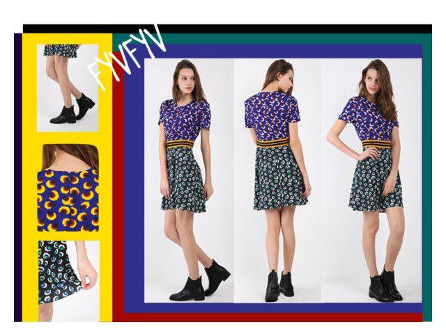 """""""FYVFYV_Stella Garden Dress"""" by fyvfyv on Polyvore"""