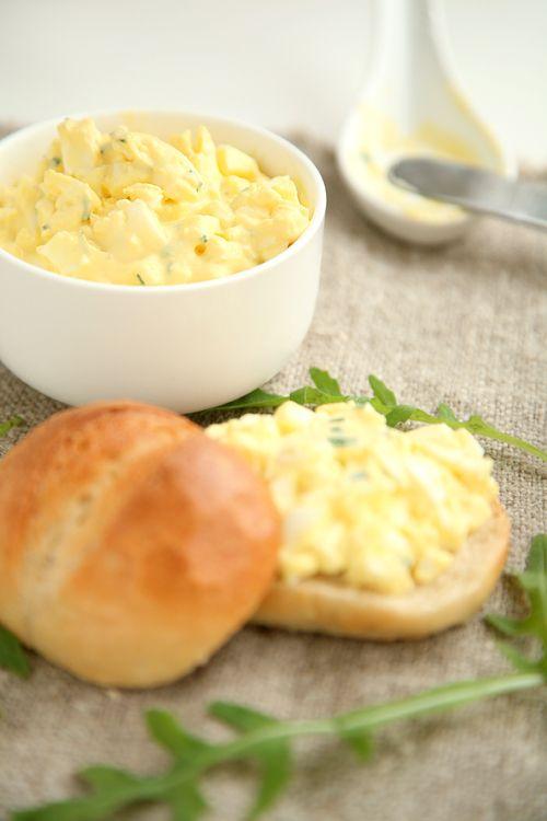 Eiersalat Cremig und pur, so mag ich ihn!