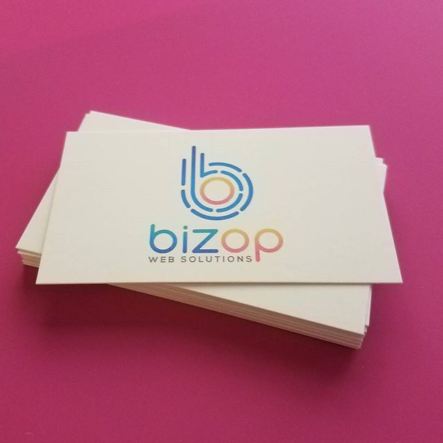 Our business cards are in! Nice, clean design thanks to @alexnicole6772 !