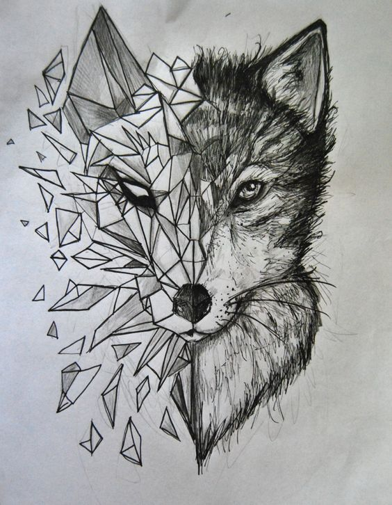 Tattoo Wolf – 60 Inspirational Ideas for Men and Women – #drawing #Women # for #Ideas #Inspirational