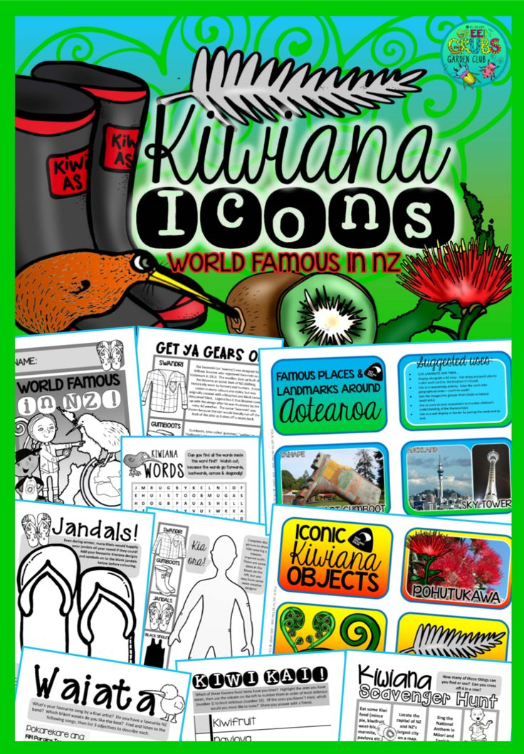 Is NZ the best place on the planet? Yeah, nah I'm pretty sure Godzone is….We're as good as gold here in Aotearoa! This Kiwiana resource is packed full of fun facts and a wide variety of activities! It includes a 44 page student booklet and 60+ kiwiana themed flash cards...