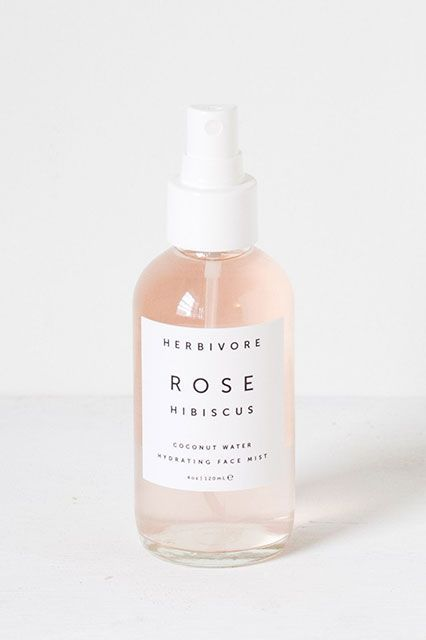 "How To Take Care Of Your Skin Like A Beauty Editor #refinery29 http://www.refinery29.com/beauty-editor-skin-regimen-plan#slide-34 Spritz""Big ups to our Beauty News Editor Taylor for tossing this bottle to me. For anyone who says face spritzes are useless, I give you Rose Hibiscus Coconut Water Hydrating Face Mist from Herbivore. It's made with rose and coconut to keep your face glowing and hydrated. I leave it in the fridge so that after I rinse my face with warm water post-cleansing, and…"