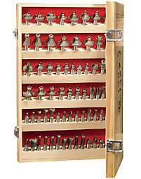 Mlcs Router Bit Storage Cabinet For 1 2 Quot Shank Bits Mlcs