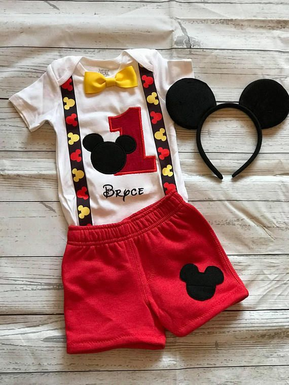 mickey mouse birthday shirt, mickey mouse boys set, mickey mousemickey mouse birthday shirt, mickey mouse boys set, mickey mouse first birthday outfit, mickey mouse