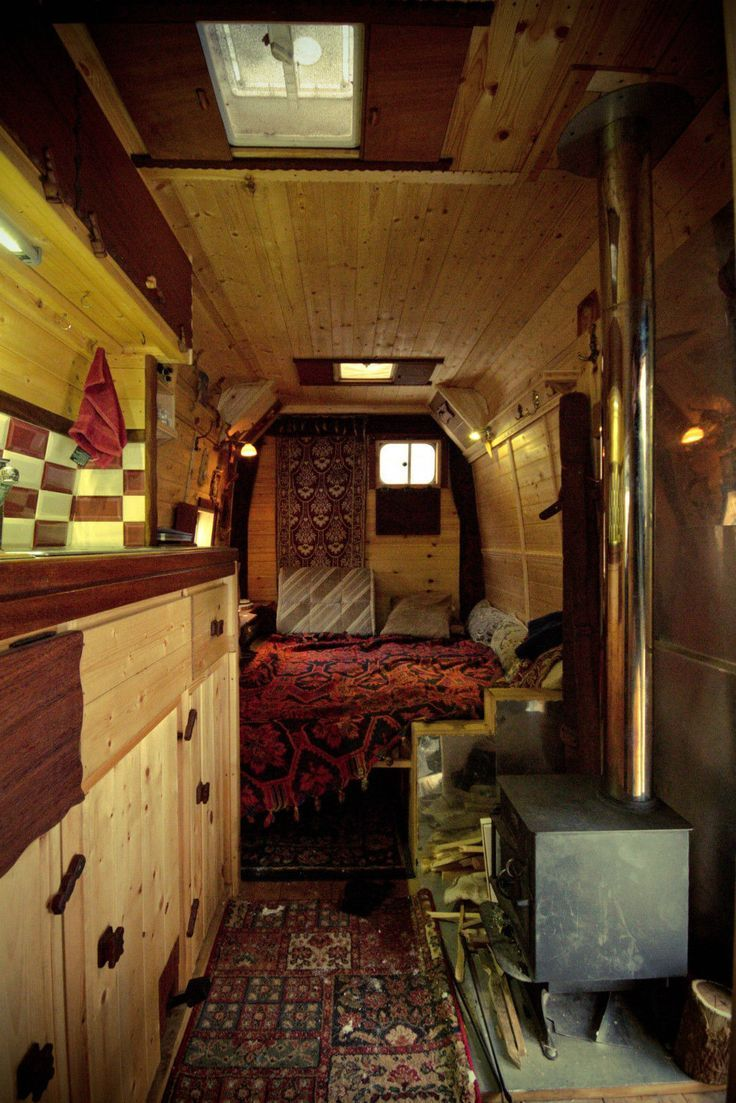 BETTER THAN A BED SIT Pictures Of Really Cool Mobile Homes Campervans