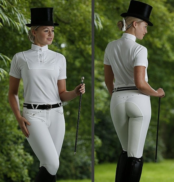 Premier Equine Crystal Couture Majestic Breeches ...