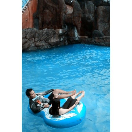 at pandawa water world, it's so amazing place!